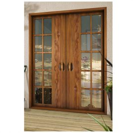 Chaotic French Doors