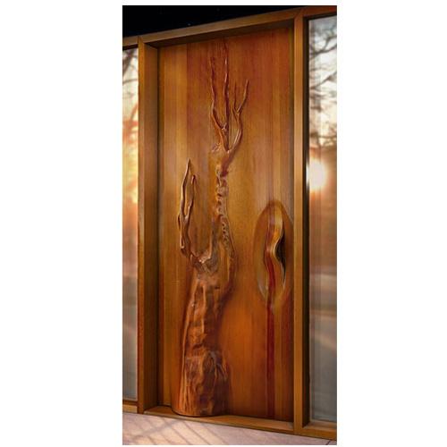 Exterior Tree Door Victor Klassen