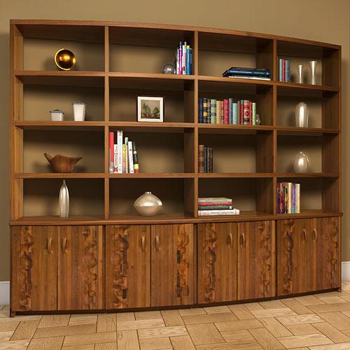 Librero shelf unit victor klassen - Libreros de madera modernos ...