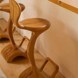 Waterfall Bar Chair
